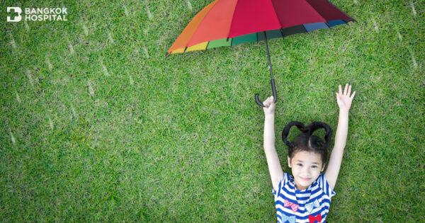 รวม 6 โรคเด่น เด็กเสี่ยงเป็นมากที่สุดในหน้าฝน